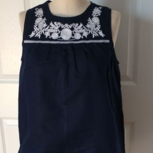 Jcrew linen blouse